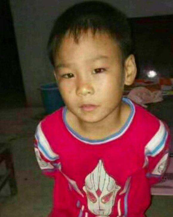 紧急寻找郸城县男童刘翔宇,2017年10月28日走失