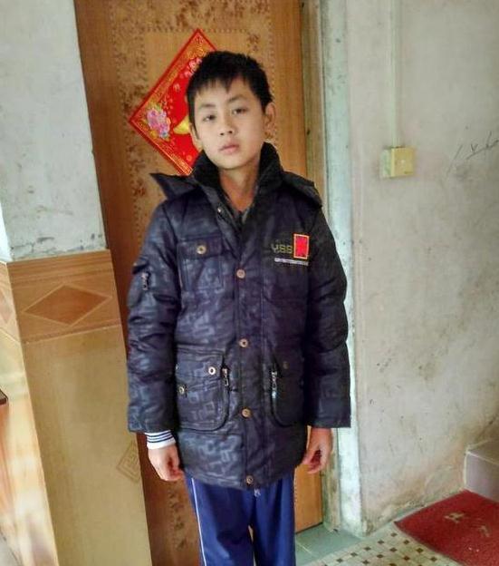 寻找广东男孩容伟基 2017年12月19日博罗县园洲镇出走