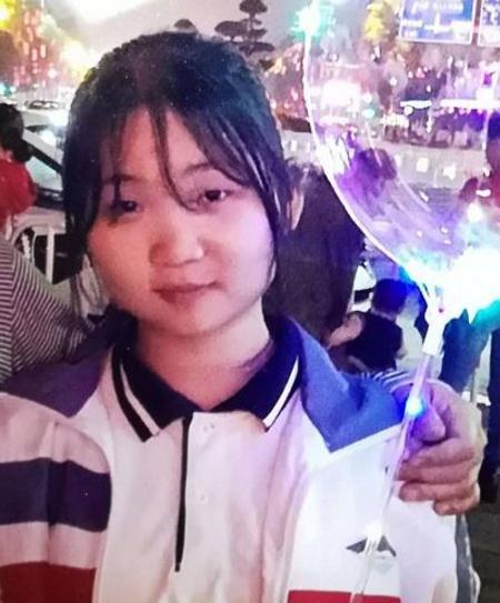 寻找广东女孩韩筱茜 2018-06-26 中山市西区沙朗走失